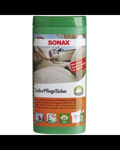SONAX Bőrápoló kendő 25db
