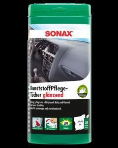 SONAX Műanyagápoló kendő 25db
