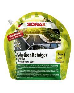 SONAX Nyári szélvédőmosó kevert, zöld citrom 3Liter