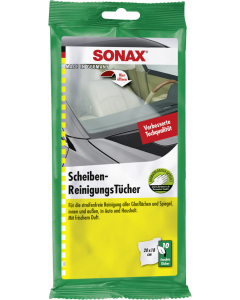 SONAX Üvegtisztító kendő 10db