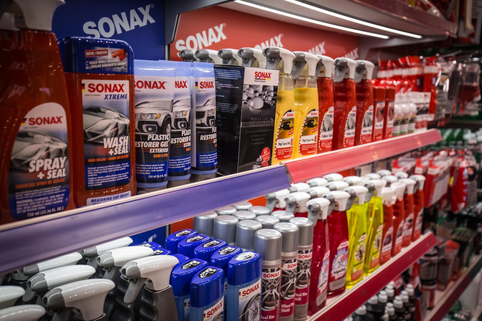 A SONAX minden terméke megtalálható az USA piacán is