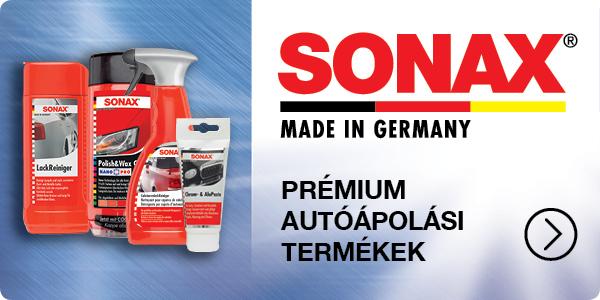 sonax prémium autóápolási termékek